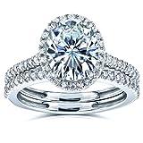 Best Kobelli Moissanite Wedding Rings - Kobelli Oval Moissanite Halo Bridal Rings Set 2 Review