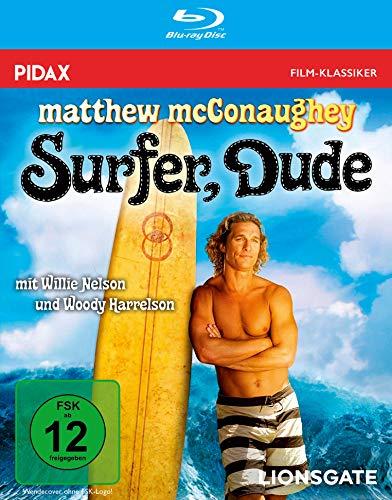 Surfer Dude / Amüsante Komödie mit dem TRUE DETECTIVE-Duo Matthew McConaughey und Woody Harrelson (Pidax Film-Klassiker) [Blu-ray]