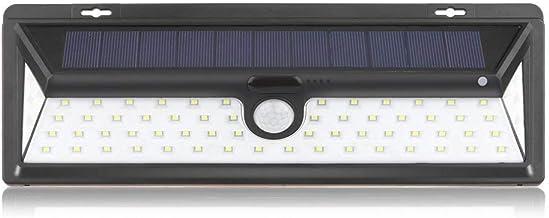 Mengjay 2 stuks 28 LED zonnelicht buitenshuis, bewegingsmelder, waterdicht zonne-tuinlicht