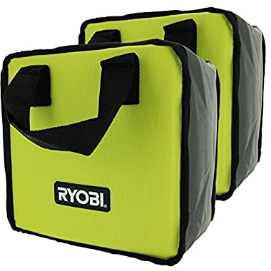 Ryobi Lime Green Genuine OEM Tool Tote Bag (2 Pack) (Tools Not Included)