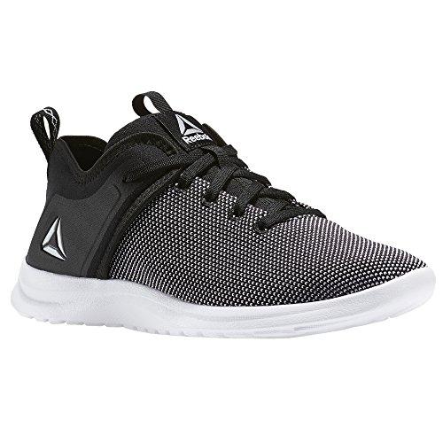 Reebok Solestead, Chaussures de Marche Nordique, Multicolore (Black White), 35.5 EU