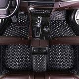 for Infiniti G Series G25 G35 G36 G37 Sedan 2007-2013 Floor Mats Custom All Full Surrounded Cargo Liner All Weather Waterpoof Anti-Slip Left Driving Black and Beige