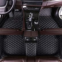 SLONG for Mercedes-Benz GLK 2008-2014 300 350 4Matic Floor Mats Custom All Full Surrounded Cargo Liner All Weather Waterpoof Anti-Slip Left Driving Black and Beige