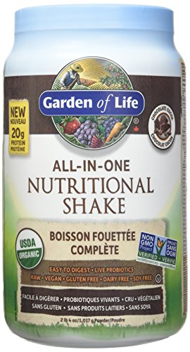 Garden of Life All in One Nutritional Protein Meal Replacement Shake Chocolate 1017g