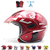 ZJRA Casque Motocross pour Les Enfants, Casque de Moto pour Les Enfants, garçons et...