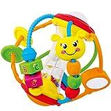 Hochets avec balles colorés pour l'éducation précoce - idéal pour les bébés à partir de 6 mois - pour garçons et filles