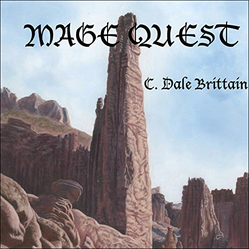 Mage Quest audiobook cover art