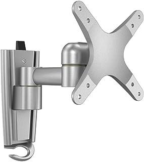 Soporte para TV Soporte para TV ajustable en ángulo de inclinación montado en la pared, Material de aleación de aluminio S...