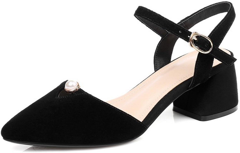 AdeeSu Womens Dress Cold Lining Non-Marking Urethane Sandals SLC03996