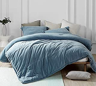 Byourbed Coma Inducer Oversized Queen Comforter - Baby Bird - Smoke Blue