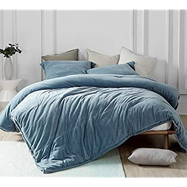 Byourbed Coma Inducer Oversized King Comforter - Baby Bird - Smoke Blue