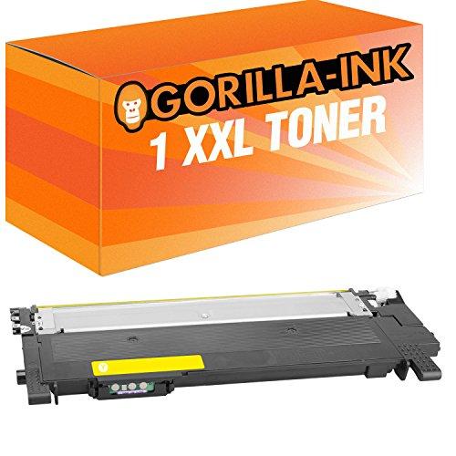 Gorilla-Ink 1 Cartuccia Toner XXL compatibile con Samsung CLT-Y404S Yellow   Adatto a Samsung Xpress C430 C430W C480 C480FN C480FW C480W C482W SL-C430 SL-C430W SL-C483 SL-C483FW SL-C483W
