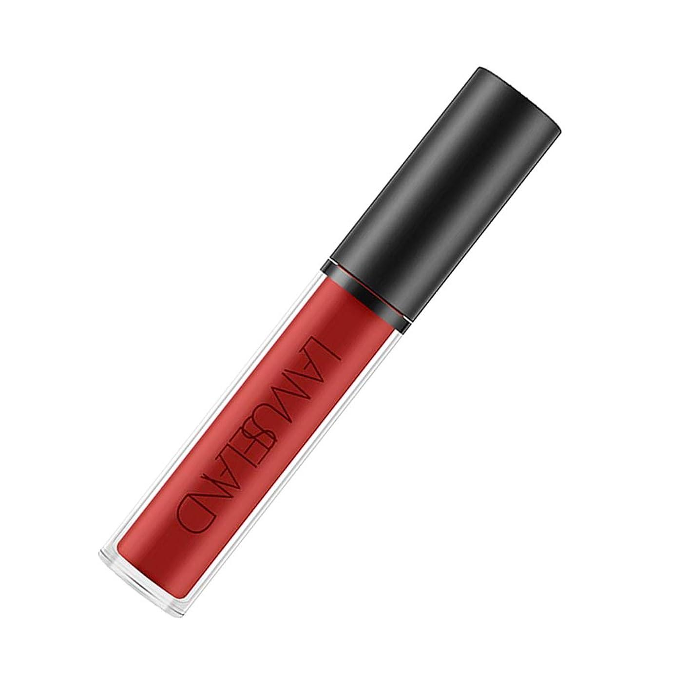 櫛クリケット疑問に思う4カラー 長持ち 防水性 リップスティック 口紅 液体口紅 - ローズ
