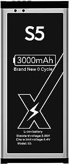DEJIMAX Batería para Samsung Galaxy S5, 3000mAh con NFC Lithium Polymer para Galaxy S5 I9600 G900 para EB-BG900BBC