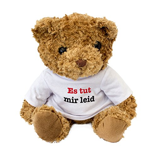 London Teddy Bears 4X-X0XR-QXKA es TUT Mir leid, Brown