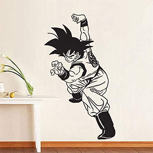 hetingyue zeven Anime Jongenfiguren Anime Cartoon Decoratie van het huis, afneembaar, vinyl, wanddecoratie