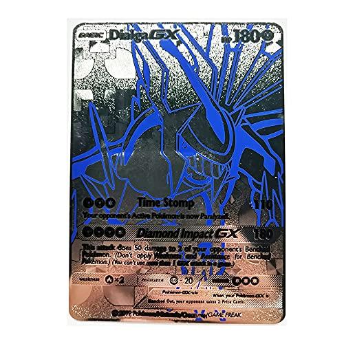 Tarjeta De Pokémon De Metal Recoger Cartas Coleccionables del Juego Adecuado para Niños Mayores De 8 Años. (Color : B)