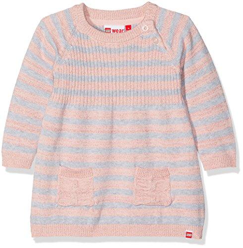 Lego Wear Duplo Girl Katlyn 601-Strickkleid Robe, Rosa (Rose 408), 92 cm Bébé Fille