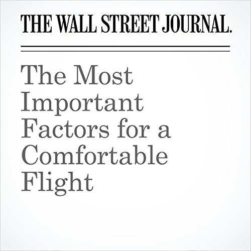 The Most Important Factors for a Comfortable Flight copertina