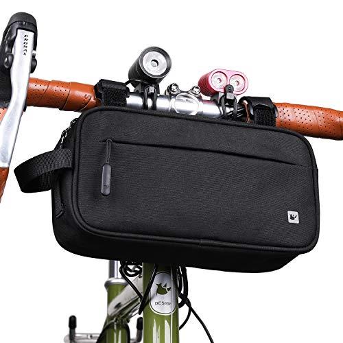 Rhinowalk Multifunktional Fahrrad Lenkertasche Wasserdicht Rahmentasche Oberrohrtasche Fahrradtasche Umhängetasche Handtasche Bauchtasche
