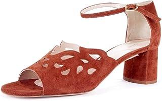 CALAND SCHOEN - Sandalias de Vestir de Cuero para Mujer Marrón coac