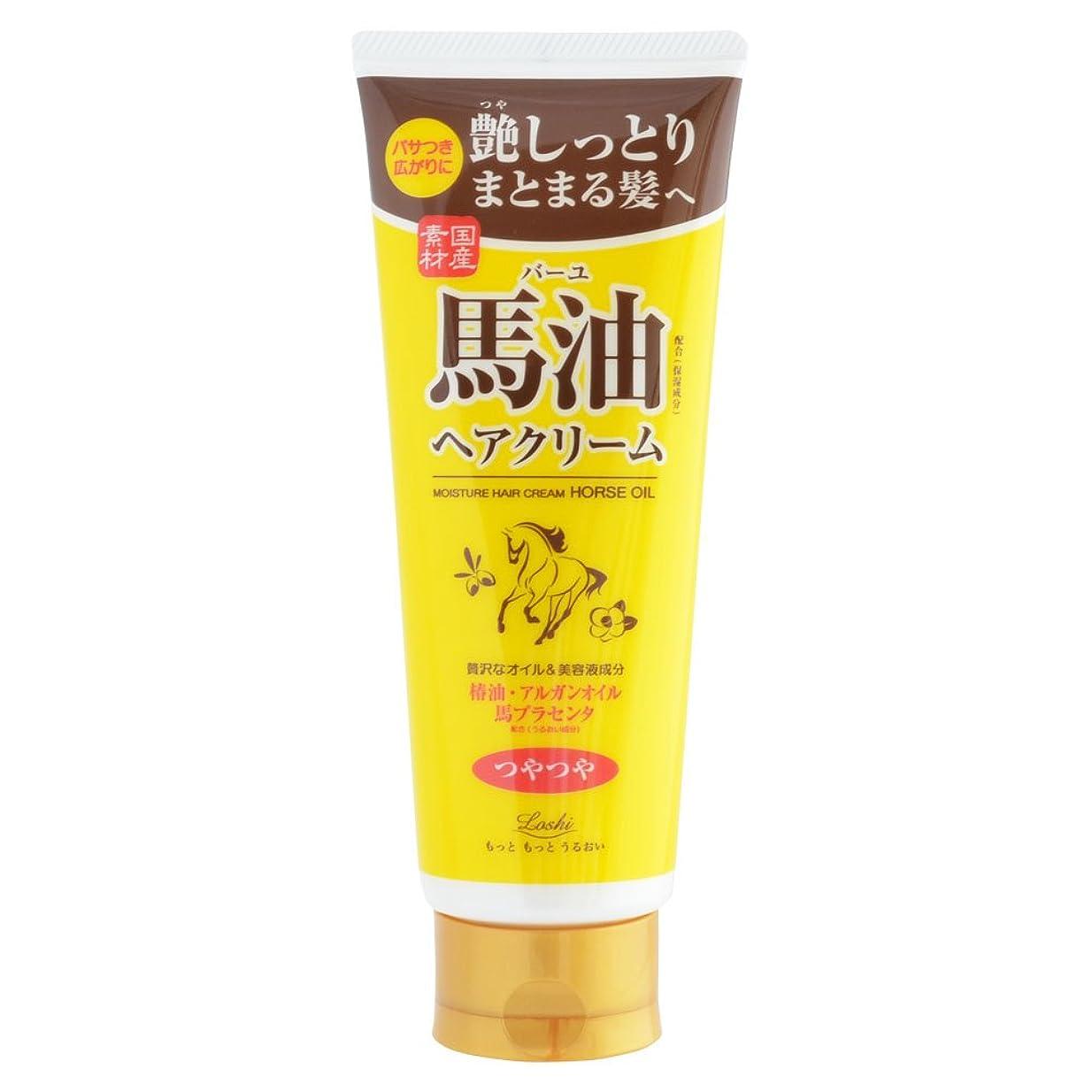 取り出す追加抵抗するロッシモイストエイド オイルヘアクリーム 馬油ヘアクリーム 160g