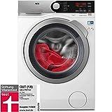 AEG L7FE77485 Waschmaschine / ProSteam -Auffrischfunktion / 8,0 kg / Leise / Mengenautomatik / Nachlegefunktion / Kindersicherung / Schontrommel / Allergikerfreundlich / Wasserstopp / 1400 U/min