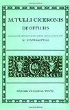 De Officiis (Oxford Classical Texts, Latin Edition)