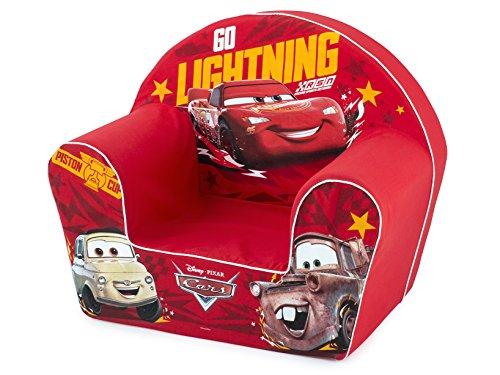 Lulabi Disney Cars - Sillón Suave, Rojo, 18 + Meses