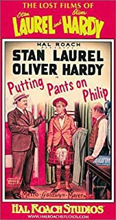 laurel and hardy putting pants on philip