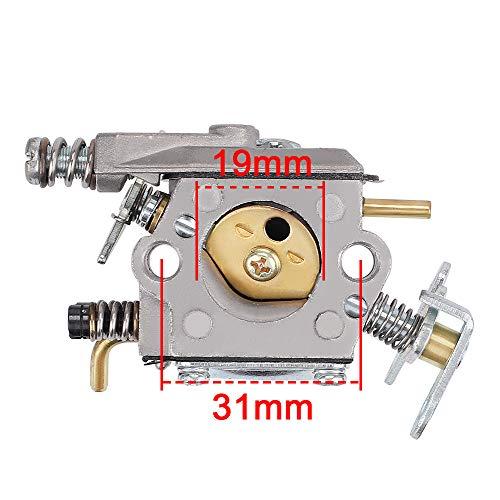 Hayskill 545081885 Carburetor for Poulan 2375 1900 1950 1975 2050 2055 2075 2150 2550 2450 2250 P3416 Chainsaw Parts Replace WT-324 WT-89 WT-891 C1Q-W8 C1Q-W14 530069703