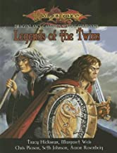 Legends Of The Twins (Dungeons & Dragons d20 3.5 Fantasy Roleplaying, Dragonlance Setting)