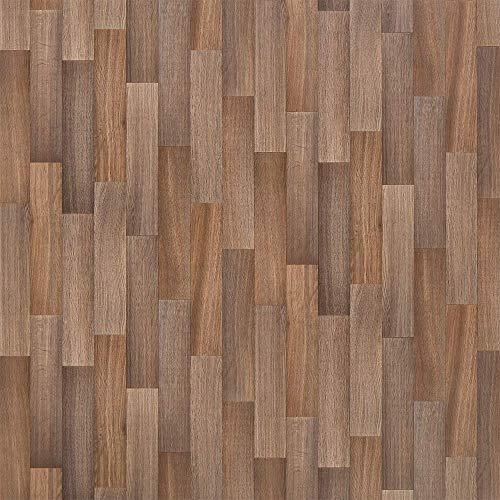 PVC Vinyl-Bodenbelag im modernen Landhausstil | PVC-Belag verfügbar in der Breite 2 m & in der Länge 1,5 m | CV-Boden wird in benötigter Größe als Meterware geliefert | rutschhemmend