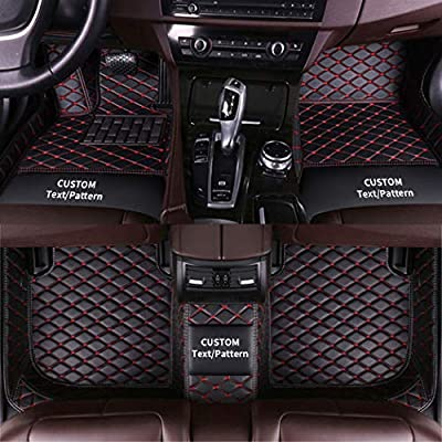 2013 2014 - Front 2015 2020 Jeep Grand Cherokee 2016 Made in USA YelloPro Auto Custom fit Heavy Duty Car Floor Mat Accessories for 2011 2018 2012 2017 2nd Row 4pcs 2019 All Weather