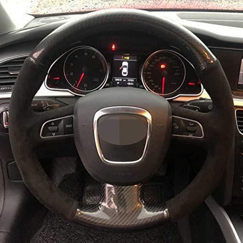 LSJVFK Autolenkradabdeckung, passend für Audi A3 8P Sportback A4 B8 Avant A5 8T A6 C6 A8 D3 Q5 8R Q7 4L S3 S4 S5 Sitz Exeo