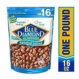 Blue Diamond Almonds, Roasted Salted, 16 Ounce