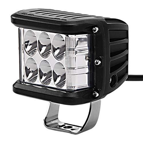 Luces de alta potencia para automóviles, barras de luces de trabajo para automóviles, luces de trabajo con focos luminosos LED, adecuadas para vehículos todo terreno, camiones, trenes, motocicletas