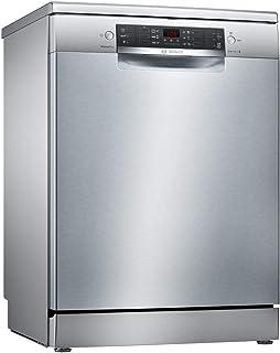 Bosch Serie 4 SMS46FI01E lavavajilla Independiente 13 cubiertos A+++ - Lavavajillas (Independiente, Tamaño completo (60 cm), Acero inoxidable, Negro, Botones, LED)