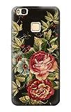 Vintage Antique Roses Funda Carcasa Case para Huawei P9 Lite