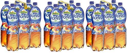 18 Flaschen Pfanner Ice Tea Pfirsich 18x 1,5l EINWEG Pfand