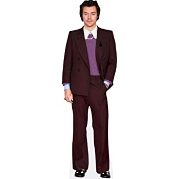 Harry Styles (Burgundy Suit) Life Size Cutout