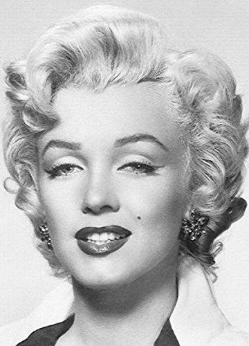 1art1 Marilyn Monroe - Portrait 4-teilig Fototapete Poster-Tapete 254 x 183 cm