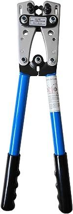 Fesjoy Crimpzange Presszange, Kabelschuhe Quetschzange Kabelschuh Zange Kabel Crimpzange Zangen Satz 6-50mm² Multifunktionale Handwerkzeuge B07PVY79SF | Neuer Eintrag