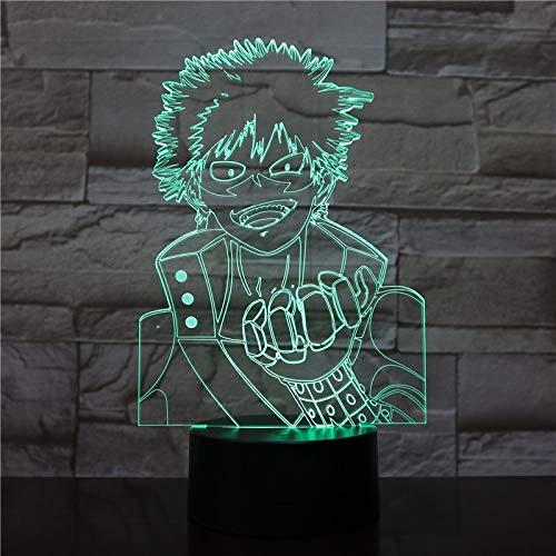 Nur 1 Stück Cool Theme 3D Lampe LED Nachtlicht Touch Mood Lamp Tisch LED Lampe Home Geschenk Geschenk
