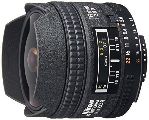 Nikon AF NIKKOR 16mm f/2.8D FISHEYE Lens