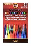 KOH-I-NOOR Polycolor dibujo lápiz Set4, color multicolor 24 Pencils