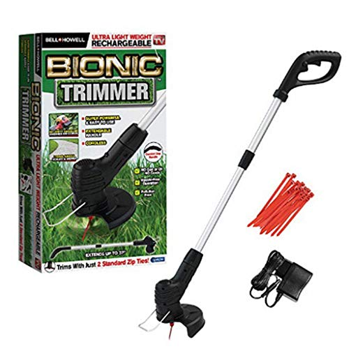 Amazing Deal Zzmop Cordless Grass Strimmer Mower Telescopic Lightweight Lawn Edger Cutter for Tree B...