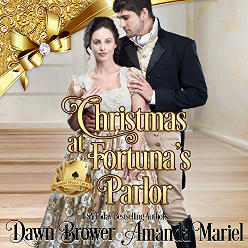 Christmas at Fortuna's Parlor audiobook cover art