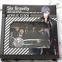 アクリルクロック Six Gravity ピエコロ グラビ ツキウタ ツキプロ