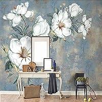 XSJ 壁紙カスタムサイズ壁画ヴィンテージ油絵背景壁ヨーロッパの背景壁装飾壁画壁紙-280X200CM
